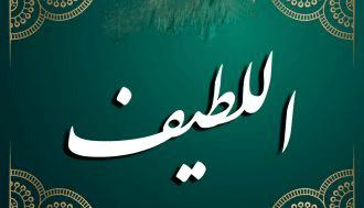 شرح أسماء الله الحسنى للإمام القشيري (اللطيف)