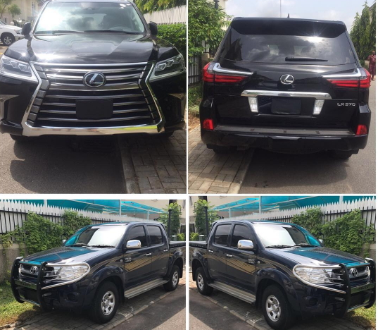 tonto dikeh gets 2 cars from husband