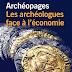 Parution : « Les archéologues face à l'économie », Archéopages hors-série