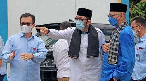 Wali Kota Padang Resmikan Bedah Rumah Dana Zakat Karyawan/ti Perumda AM Kota Padang di Intake Guo Kuranji