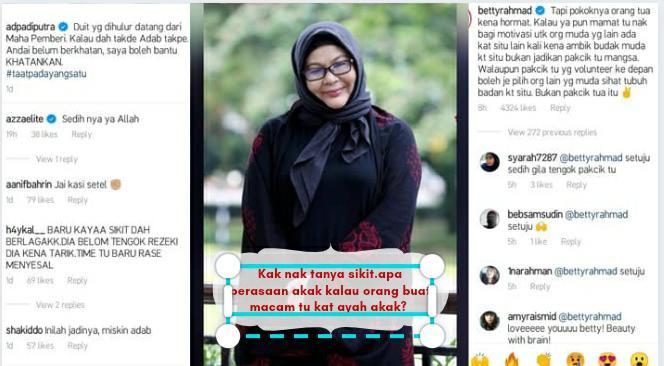 Erma Fatima dik3cam teruk dengan netizen | ini soal adab!