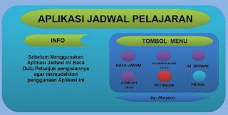 Manu Utama Apliaksi Jadwal Pelajaran 2018-2019, SEO SUNDA