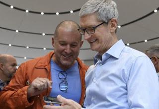 Tim Cook rende omaggio al lavoro di Jony Ive in Apple con una mail allo staff