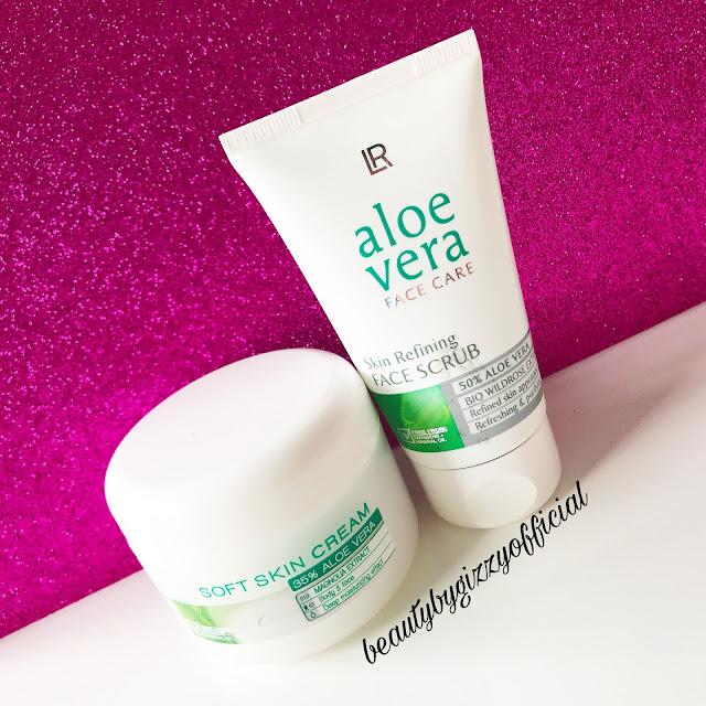 LR Aloevera Soft Skin Cream & Skin Refining Face Scrub