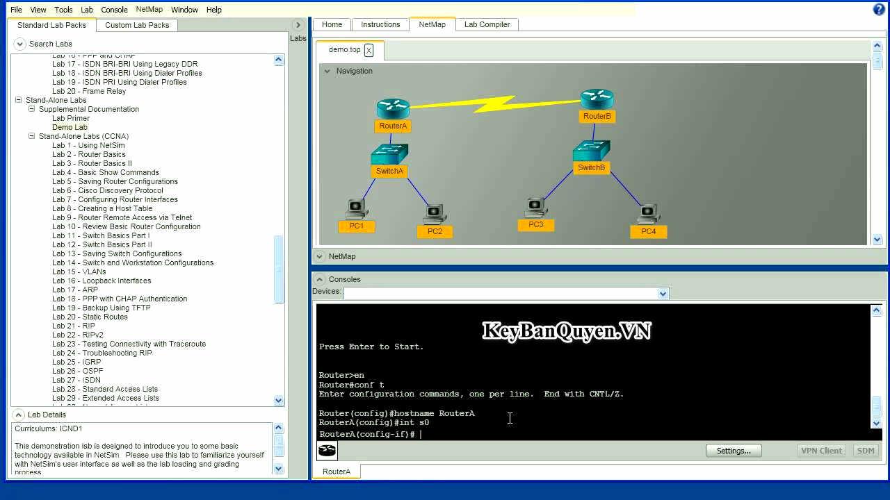 Download Boson NetSim Network Simulator 11 Full Key, Phần mềm mô phỏng thiết bị mạng.