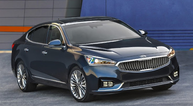 2017 Kia Cadenza Review