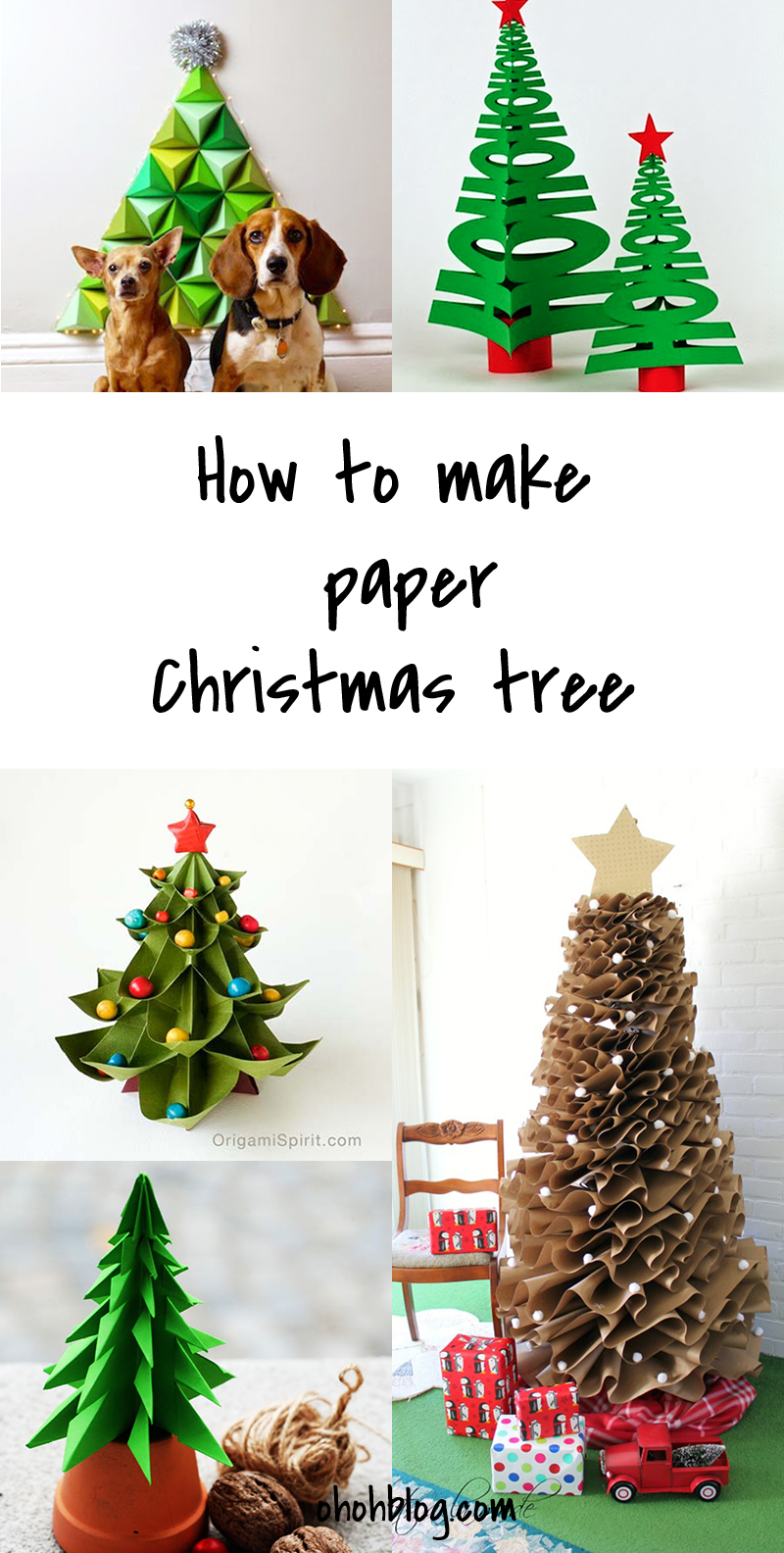 if your like it please share and make your friends enjoy this post - How To Make A Paper Christmas Tree