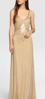 Vestido formal de tul vintage con bordado strass para nochevieja 2017