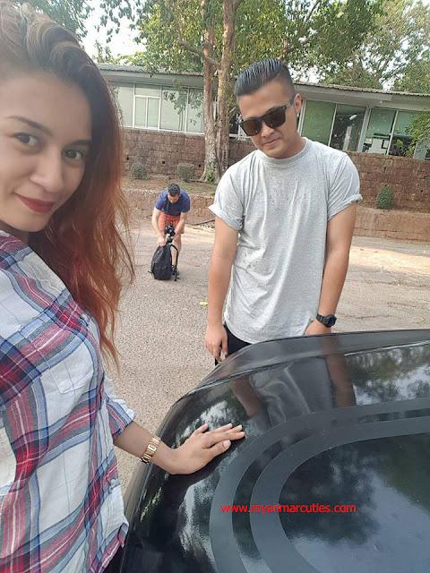 Popular Singer Eint Chit And Her Boyfriend