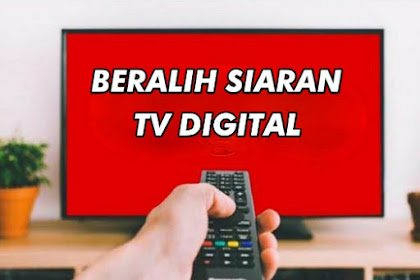Sebentar Lagi Siaran TV Analog UHF Dihentikan, Benarkah?