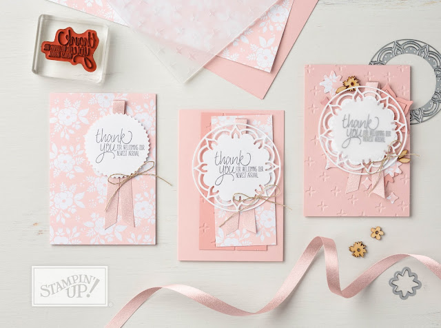 cartes Stampin' Up! 1-2-3-GO