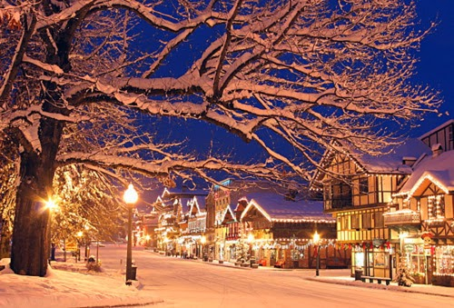 Wallpaper Hd For Desktop Background Christmas City Pictures