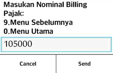 e Billing Pajak | Cara Membuat Kode Billing Via SMS Hanphone