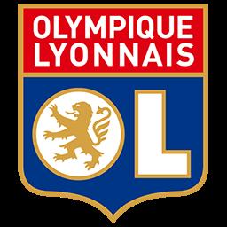 Fútbol: Imágenes del escudo del Olympique Lyon de Francia