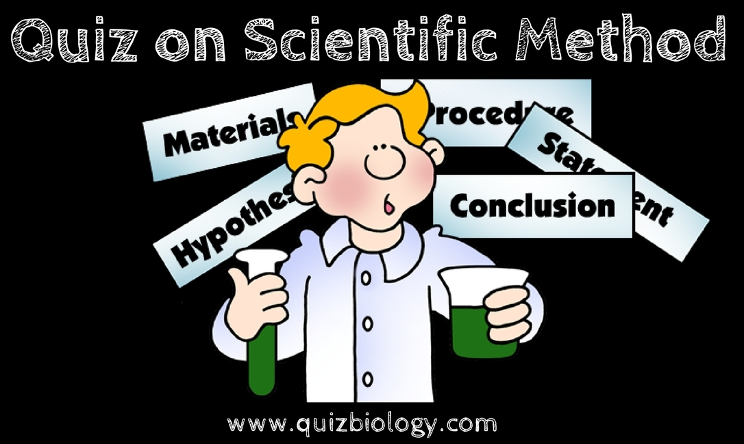 Quiz on Scientific method