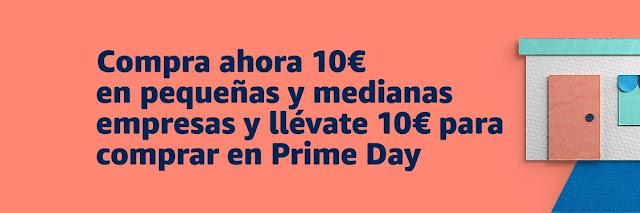 Compras pequeñas y medianas empresas Prime Day