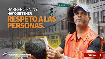 Vídeo: Barbero en NY: Hay que tener respeto a las personas