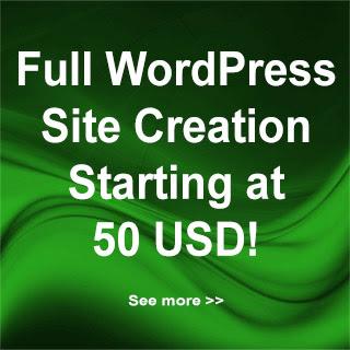 Wordpress Creation