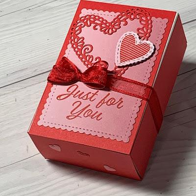 Valentine Match Box Treat Holder from Stampin' Up!