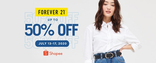 Shopee Forever 21 Sale
