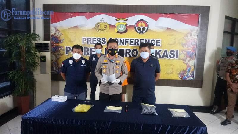 Polisi Ungkap Pembunuhan Berencana Bermotif Dendam di Bekasi
