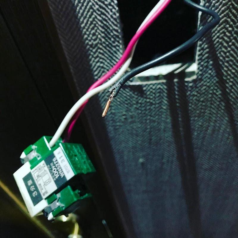 埋込トイレ換気スイッチ WN5276 の交換方法