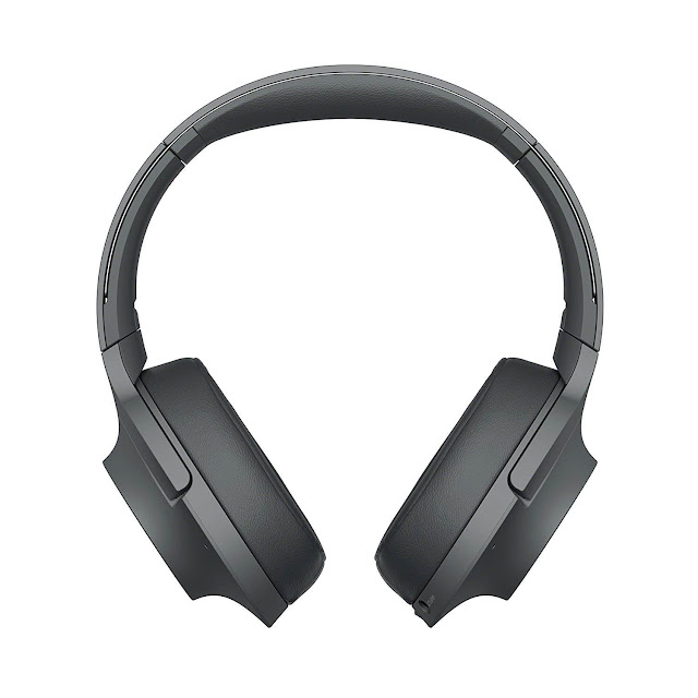 Sony WH-H900N Bluetooth h.ear On 2 Wireless Noise Canceling Headphones Black