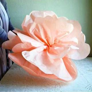 Cara Membuat Kerajinan Tangan Dari Kertas, Bunga Kertas 9