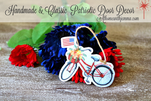 Easy, Simple and Fun Handmade Patriotic Door Decor