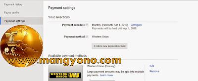 Cara Menangguhkan Pembayaran Google Adsense