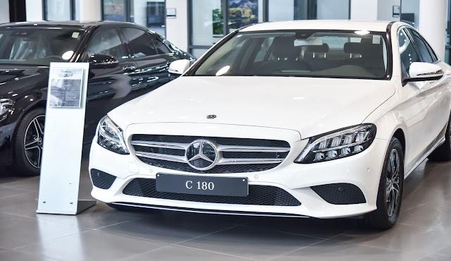 Giá xe Mercedes C180 2021