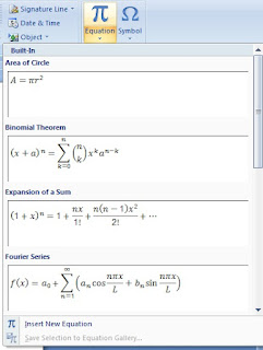 How to Write Math Equation in Ms Word in Hindi