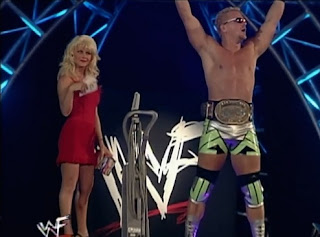 WWE / WWF Rebellion 1999 - Jeff Jarrett w/ Miss Kitty
