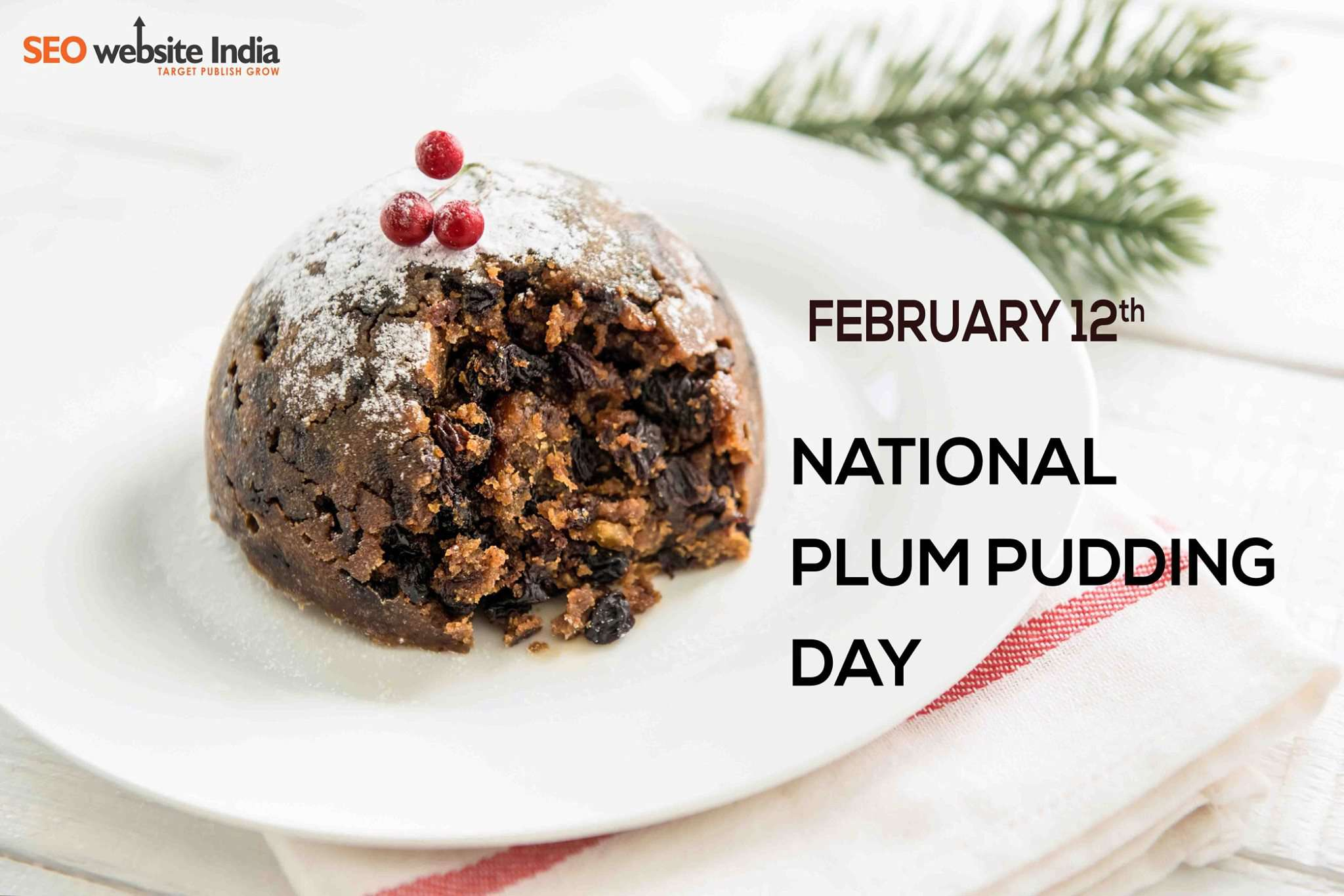 National Plum Pudding Day Wishes for Whatsapp