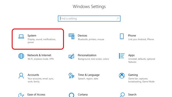 إيقاف تشغيل وضع السكون Sleep Mode الكمبيوتر Windows 10