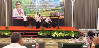 Asisten II Perekonomian dan Pembangunan Provinsi Jambi Secara Resmi Membuka Musrembangtan DTPHP