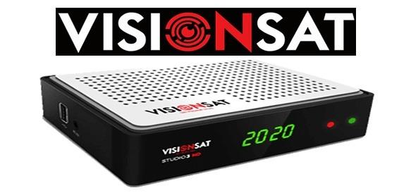 VISIONSAT STUDIO 3D HD NOVA ATUALIZAÇÃO V1.80 - 27/08/2021