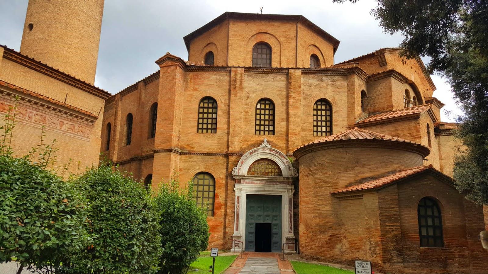 Basílica de San Vitale, Ravenna, Itália.