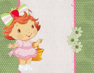 Moranguinho Baby Kit Completo Molduras Convites E Rotulos