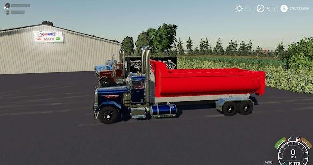 FS19 Peterbilt Trucks Pack v1.0