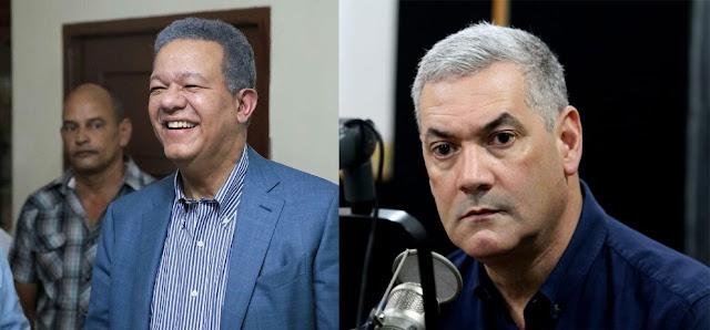 Expresidente Leonel Fernandez y Gonzalo Castillo