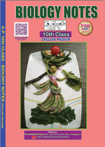 10th Class new syllabus Biology Notebook EM and TM