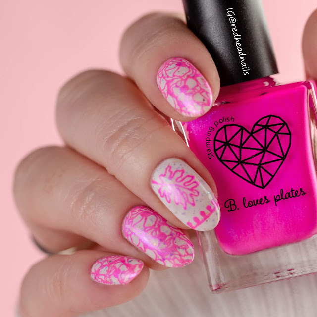 "B. Loves Plates ""Think Pink"" stamping polish collection"