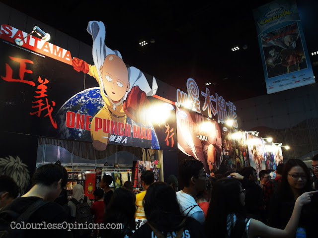 one punch man shop animax carnival malaysia 2016