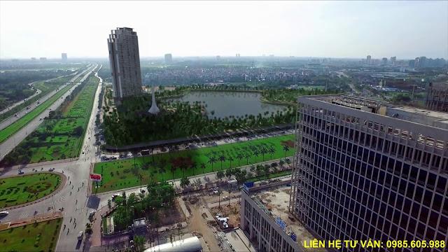 Vị trí chính xác dự án Mỹ Đình Pearl Hà Nội