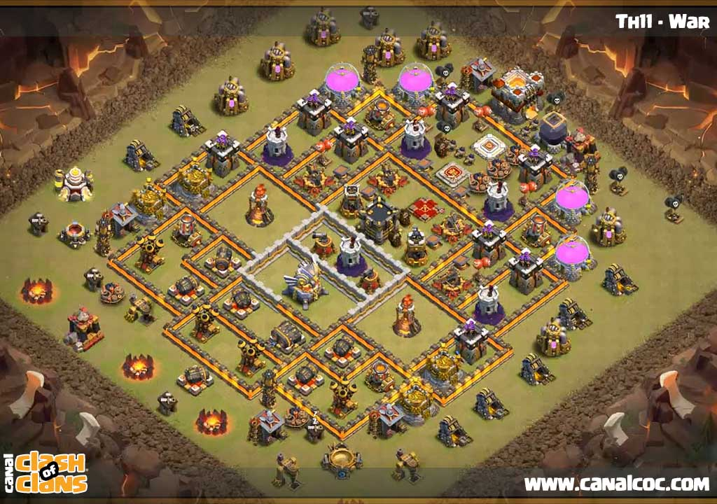Best Clash Of Clans Base Design Level