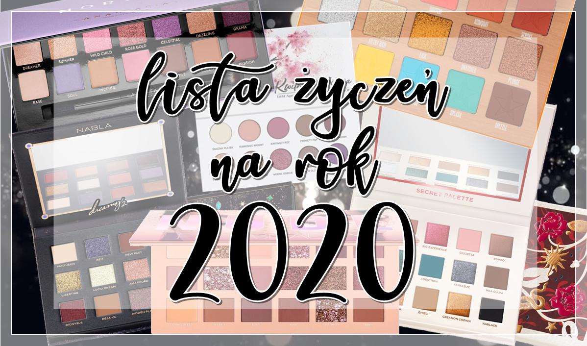 lista życzeń 2020 palety