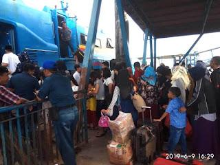 Setelah Batam, Tanjung Balai Karimun Pelabuhan Terpadat Selama Angkutan Lebaran