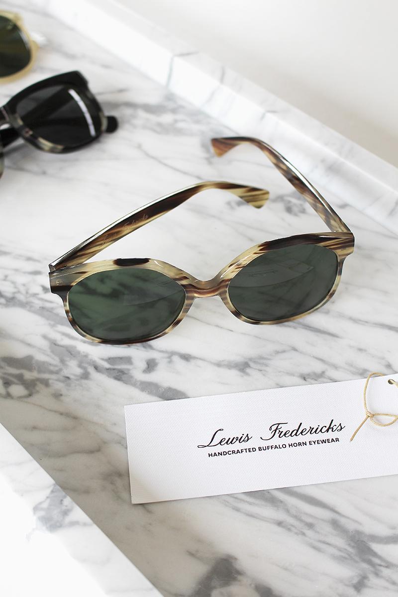 b7b2c2562923 T.D.C: Lewis Fredericks   Handcrafted Horn + Bespoke Eyewear