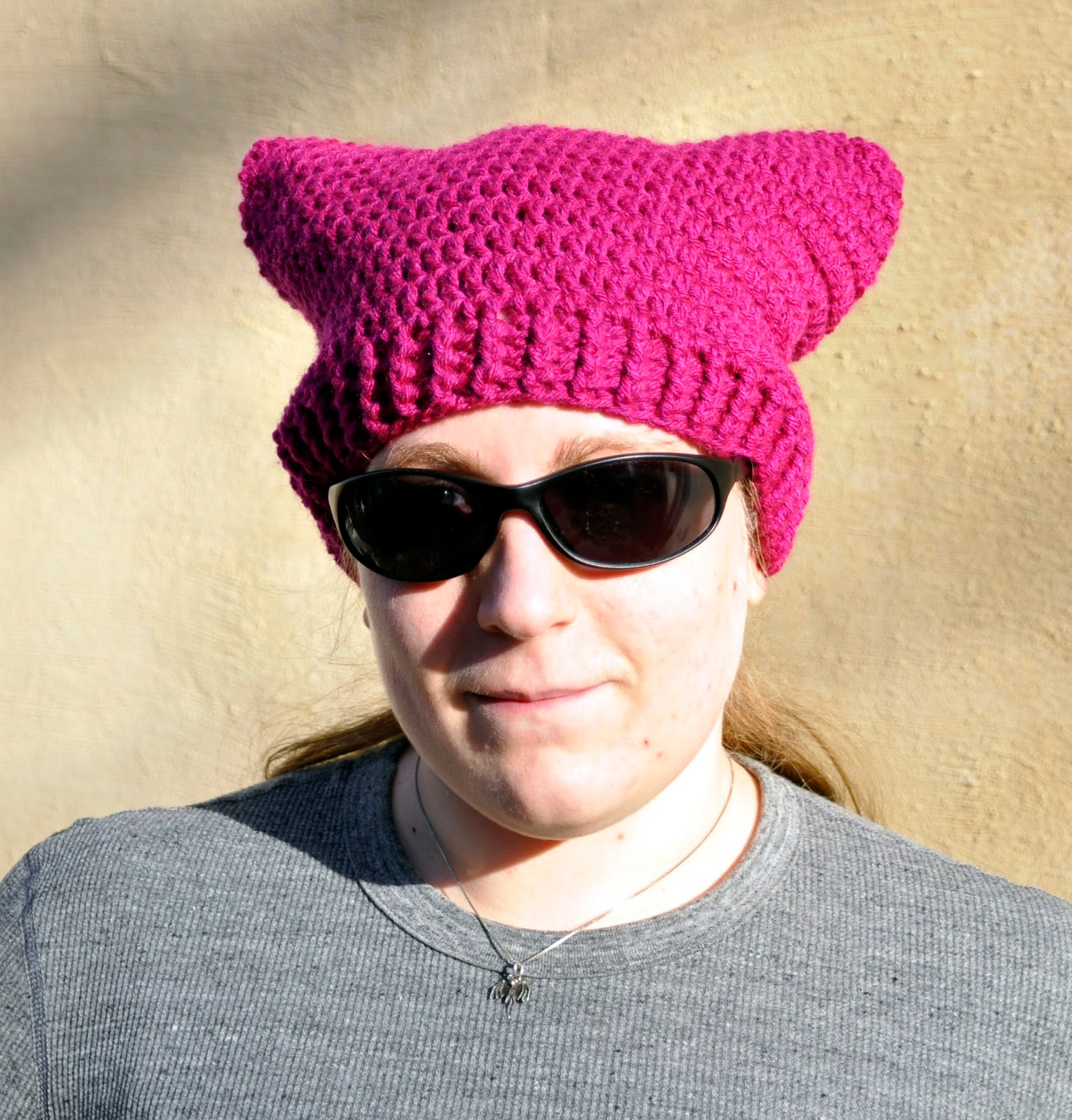 A Second Pussy Hat Pattern A Girl And Her Yarn